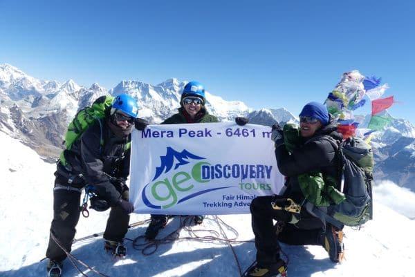 Mera Peak (6.461) Besteigung