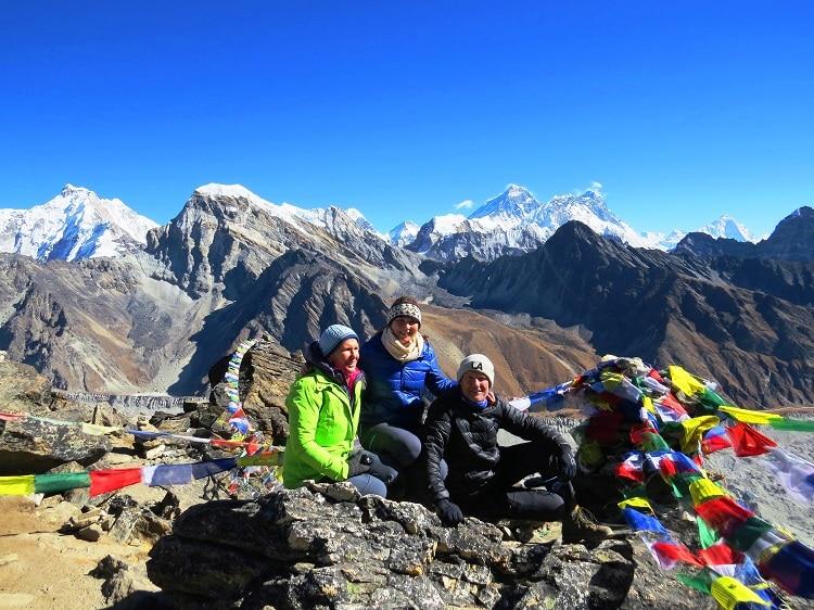 Everest Base Camp mit Gokyo Tal und die hohen Pässe