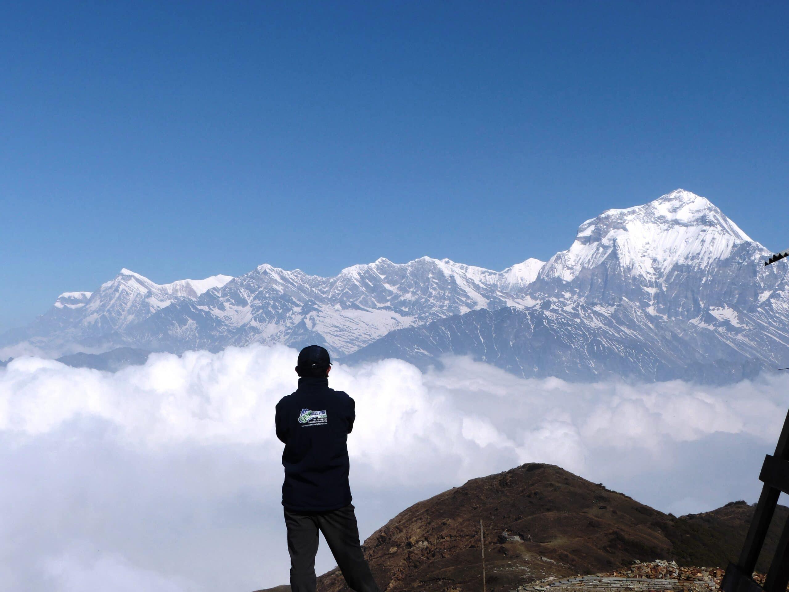 Khopra Danda mit Muldai Peak – Panorama Trekking