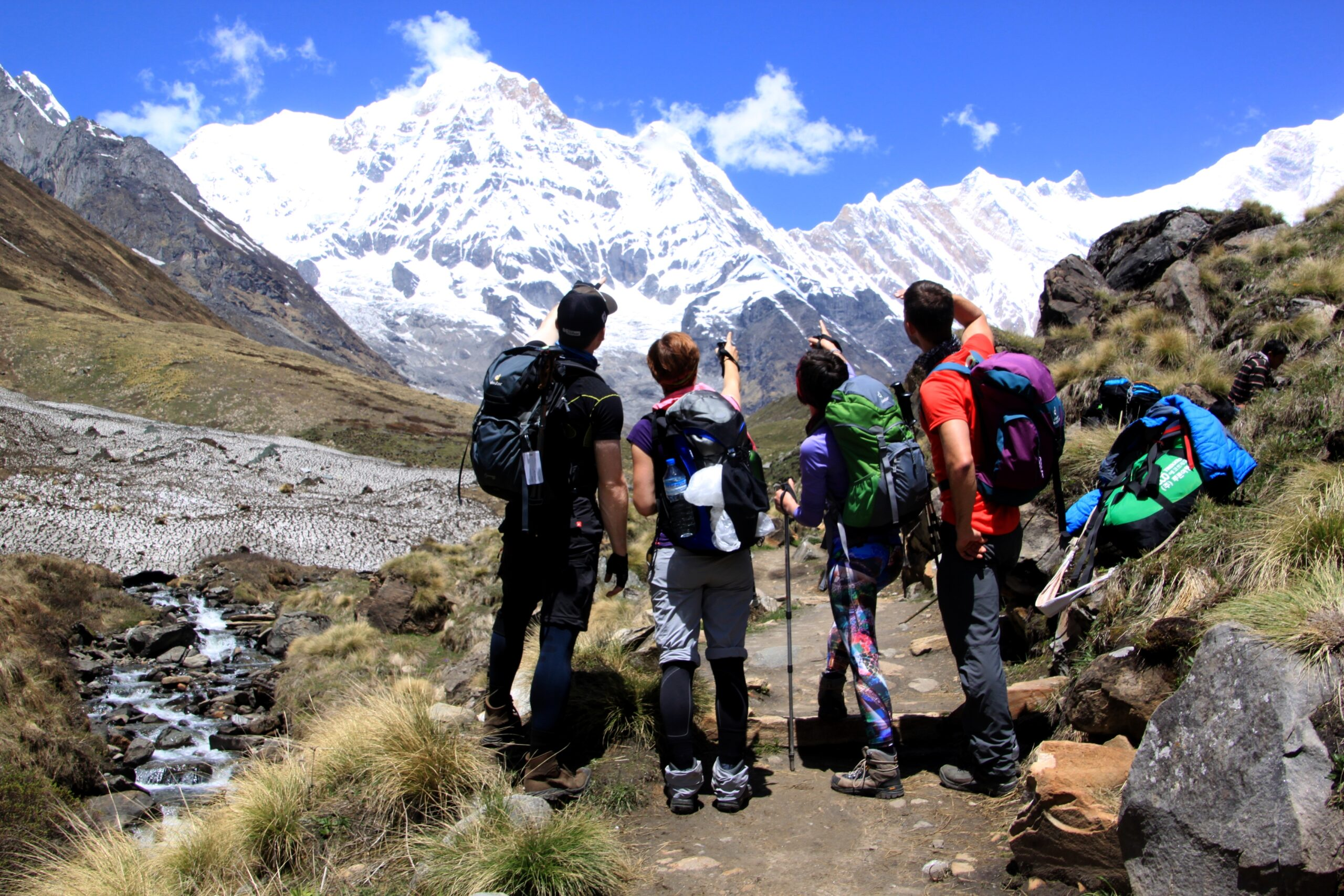 Annapurna Base Camp mit Muldai Peak