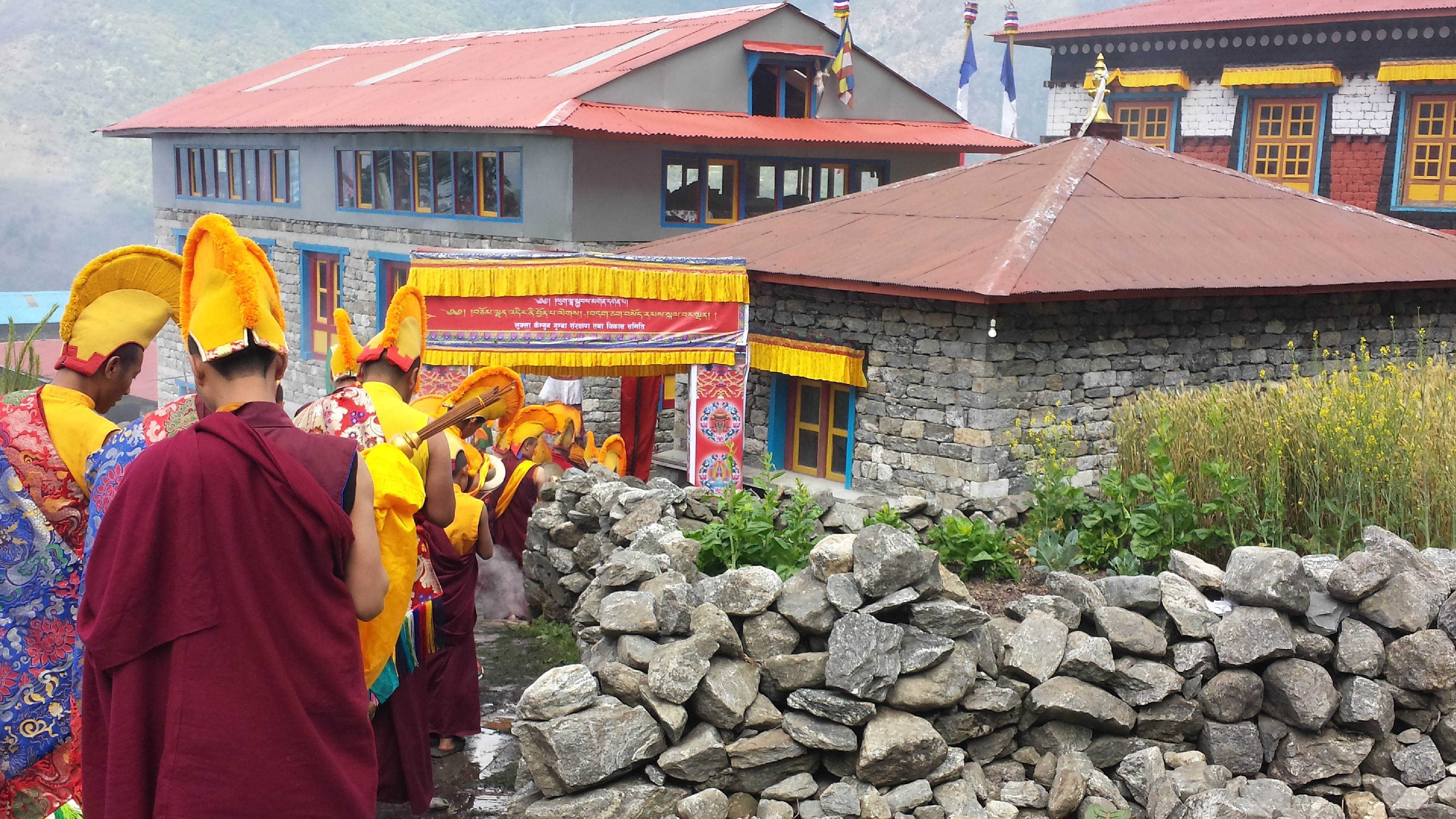 Dumjee Festival Lukla - Everest Base Camp Trek (2)