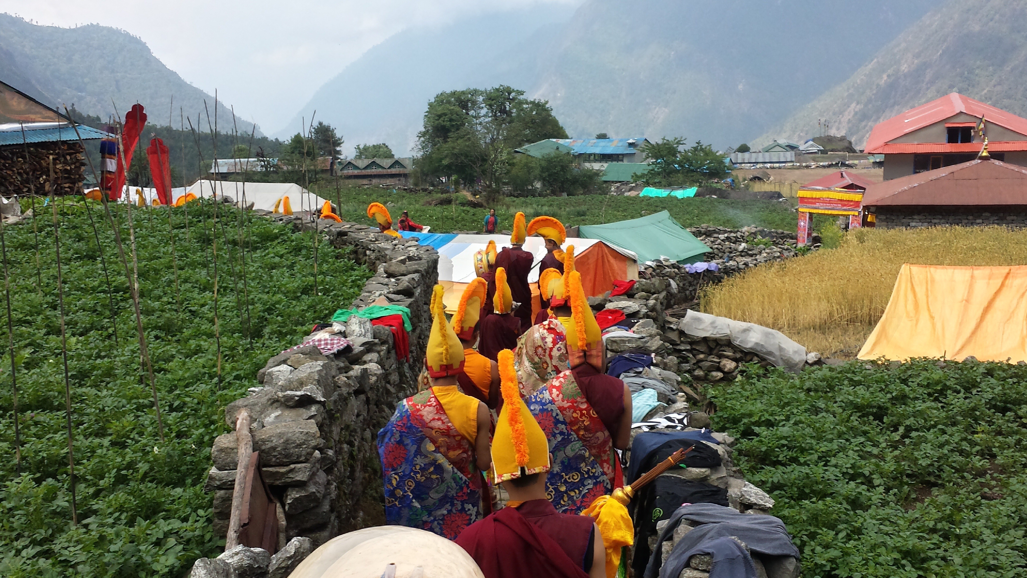 Dumjee Festival Lukla - Everest Base Camp Trek (3)