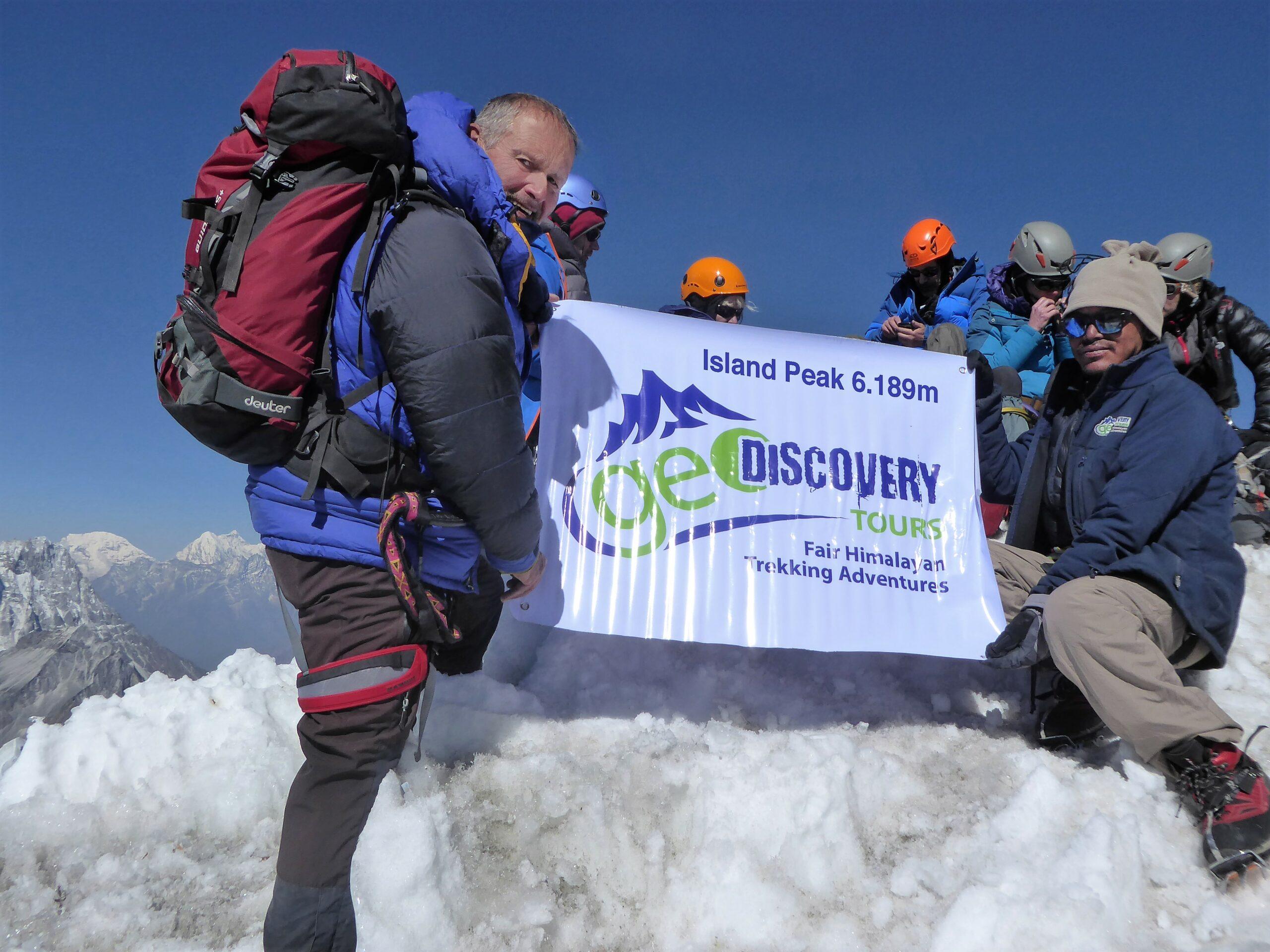Island Peak (6.189 m) Besteigung mit Everest Base Camp Trek