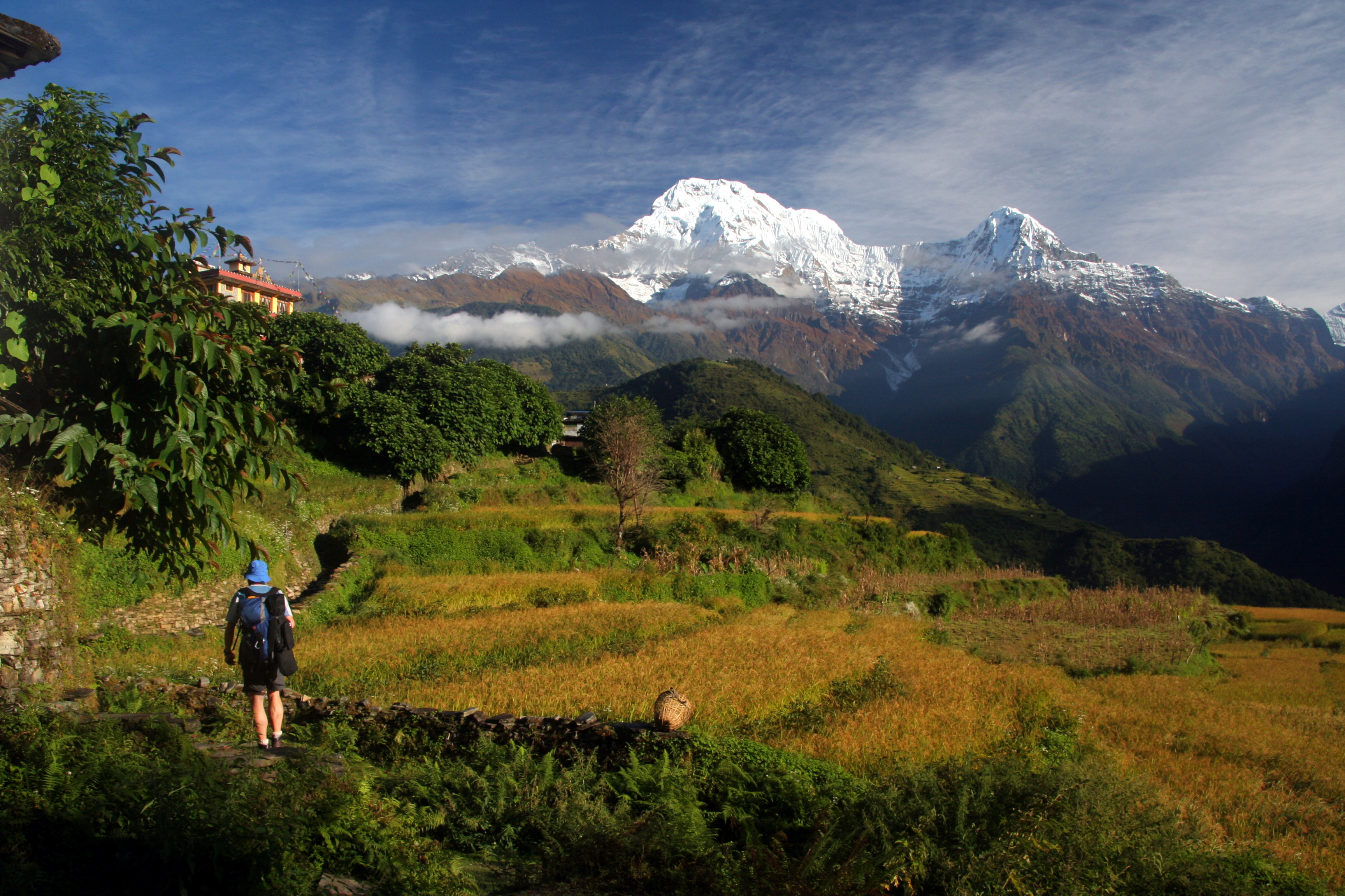 Luxury Annapurna Lodge Trek.