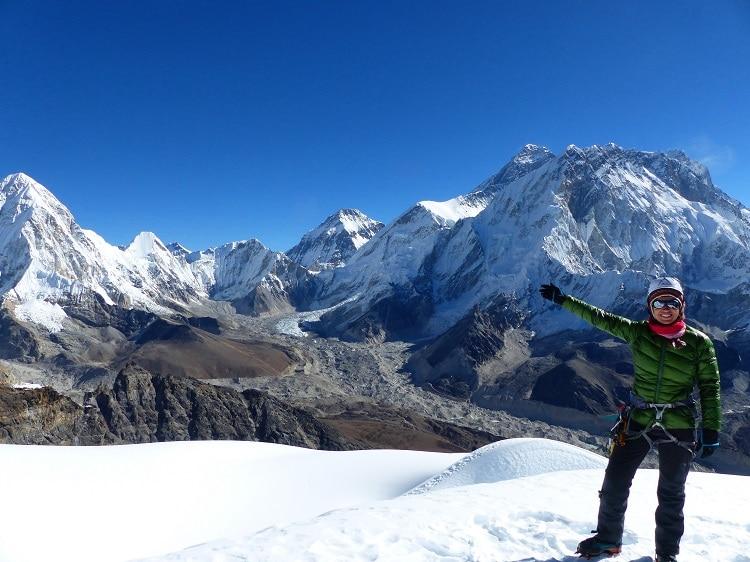 Lobuche East (6.119 m) Besteigung mit Gokyo Ri und Everest Base Camp