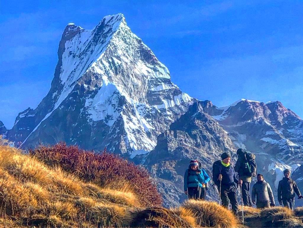 Nepal für bergsüchtige Singles und Alleinreisende
