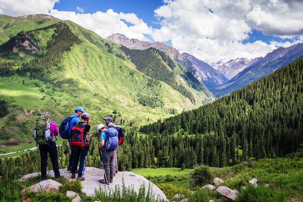 Der Nomaden Trek in Kirgistan