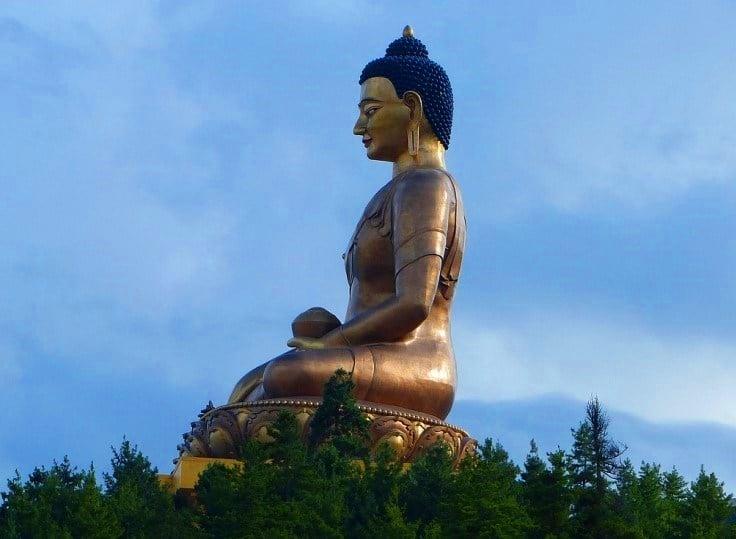 Buddha Statue mit 51,50 Metern in Thimphu Bhutan