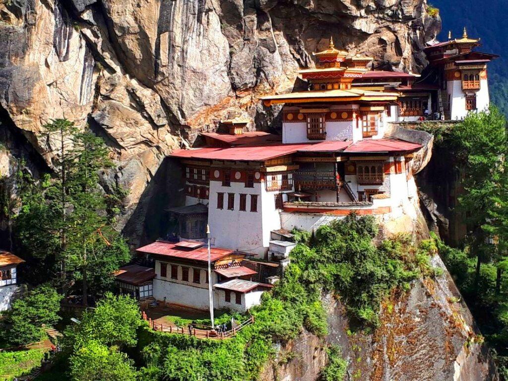 Tiger's Nest in Paro am 6. Tag der Bhutan Reise zu besuchen