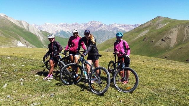 Abenteuer Mountain Bike Tour in Kirgistan