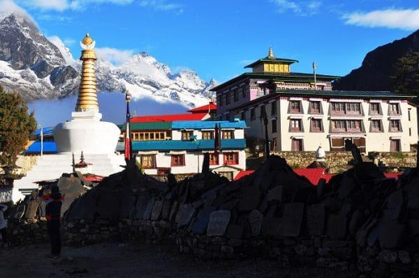 Everest Komfort Trekking zum Kloster Tengboche